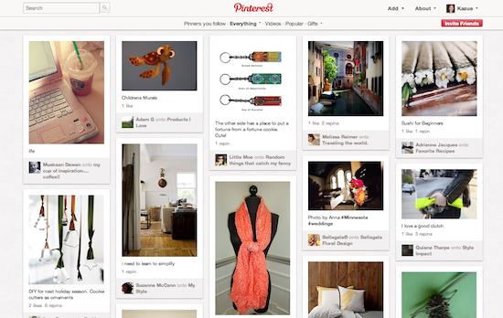 8割が女性ユーザー?!話題の画像キュレーションSNS「Pinterest」の5つの魅力