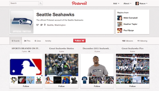 【The Seattle Seahawks図】