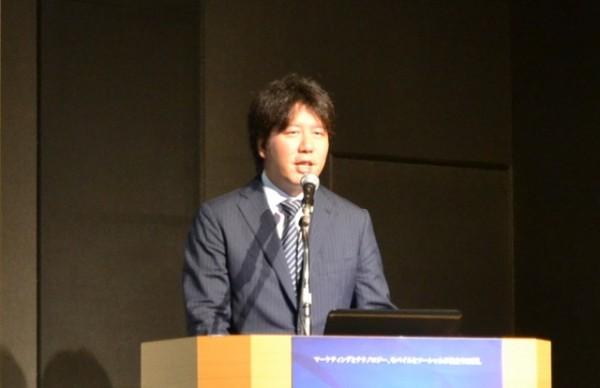 グリー代表取締役社長 田中良和氏