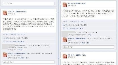 facebook 活用 事例 プロモーション ボールド-山田キャメロン P&G 投稿