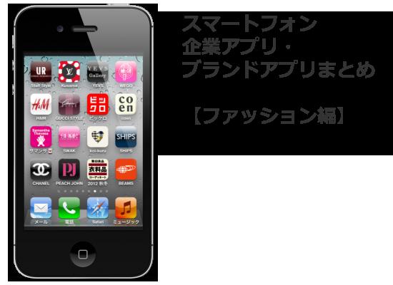参考になる!【スマホ活用事例】企業・ブランドのスマートフォンアプリまとめ(ファッション編)