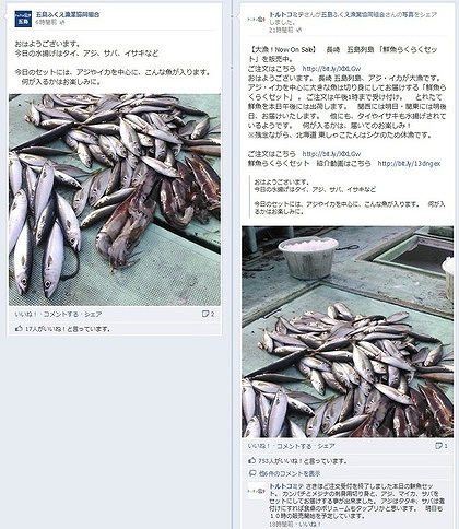 facebook 活用 事例 プロモーション トルトコミテ