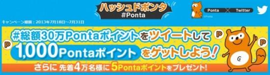 ロイヤリティマーケティング Ponta×Twitter