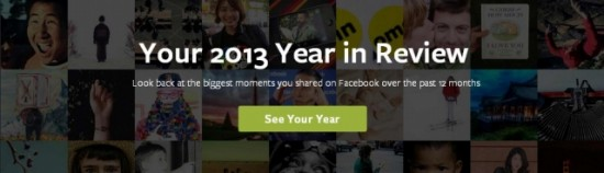 Facebook 「Year In Review」