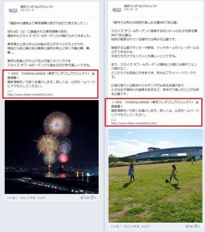 Facebook 活用 事例 プロモーション 東京ワンダフルプロジェクト