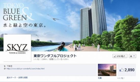 Facebook 活用 事例 プロモーション 東京ワンダフルプロジェクト カバー