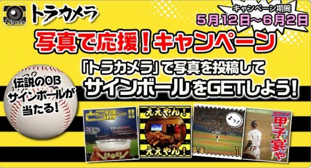 阪神タイガース承認のスマートフォン向けカメラアプリ『トラカメラ』