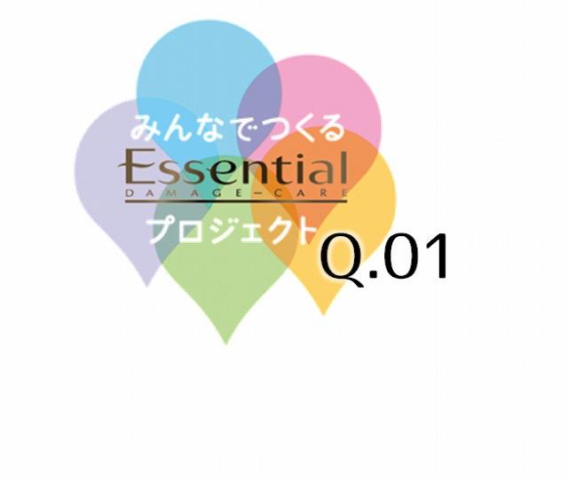 花王 エッセンシャル ダメージケアのFacebookページで「みんなでつくるエッセンシャルプロジェクト」