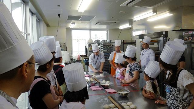 テーブルマーク株式会社主催夏休み親子パン教室@サンジェルマン横浜本社工場