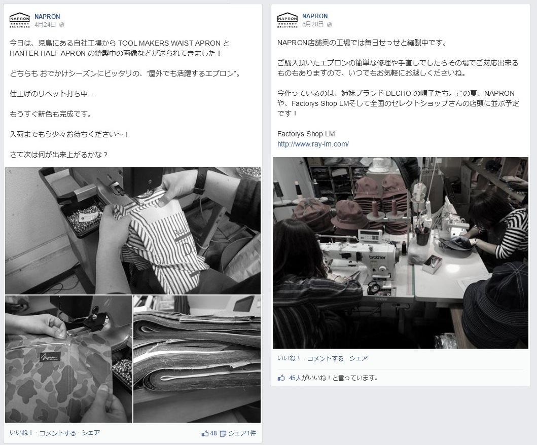 Facebook 活用 事例 プロモーション NAPRON/株式会社Ray