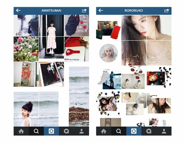 あわつまいさん&るうこさん Instagramアカウント プロフィールページ