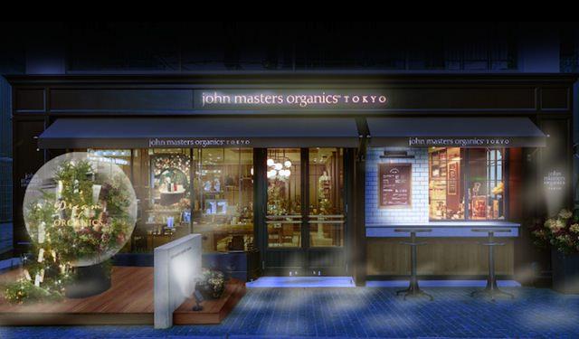 店頭オブジェ撮影投稿でもれなくプレゼント:John masters organics TOKYO1周年記念キャンペーン