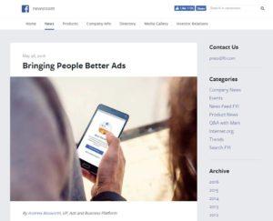 Facebook オーディエンスネットワーク