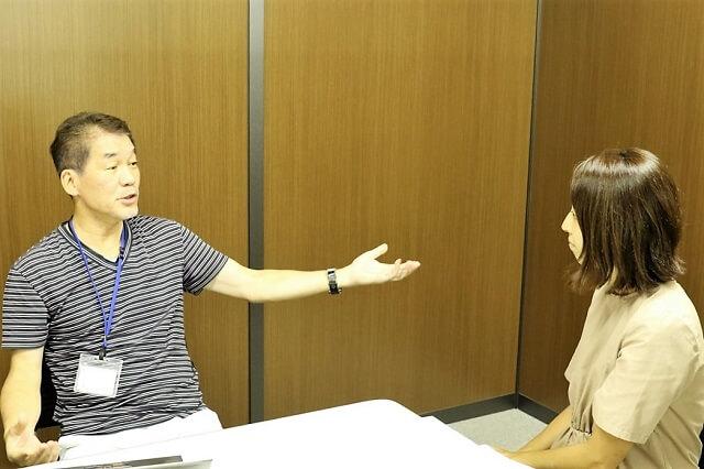 株式会社エンジェリーベ 岩本眞二社長 と アライドアーキテクツ株式会社 小川 裕子
