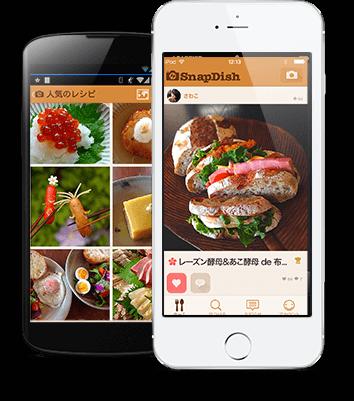 SnapDishアプリ