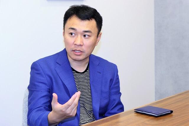 微博と共同でVstar Projectを展開するIMS社代表の李氏