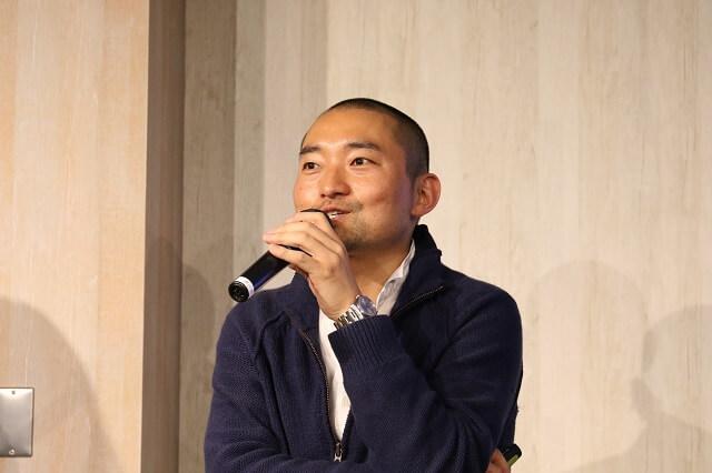 株式会社シンクロ代表取締役兼オイシックス株式会社CMO 西井 敏恭 氏。ドクターシーラボのEC事業責任者などを経て2014年にシンクロを設立。2014年7月からオイシックスCMOを兼務。