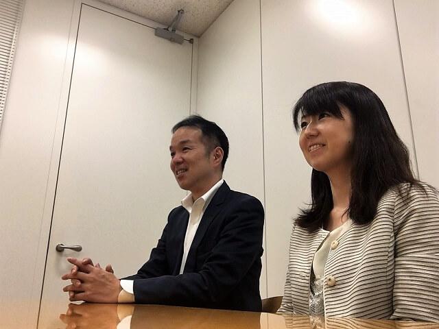 (写真左)丹下氏と共に「タビジョ」プロジェクトを担当している同部署の三瓶 佳奈子氏