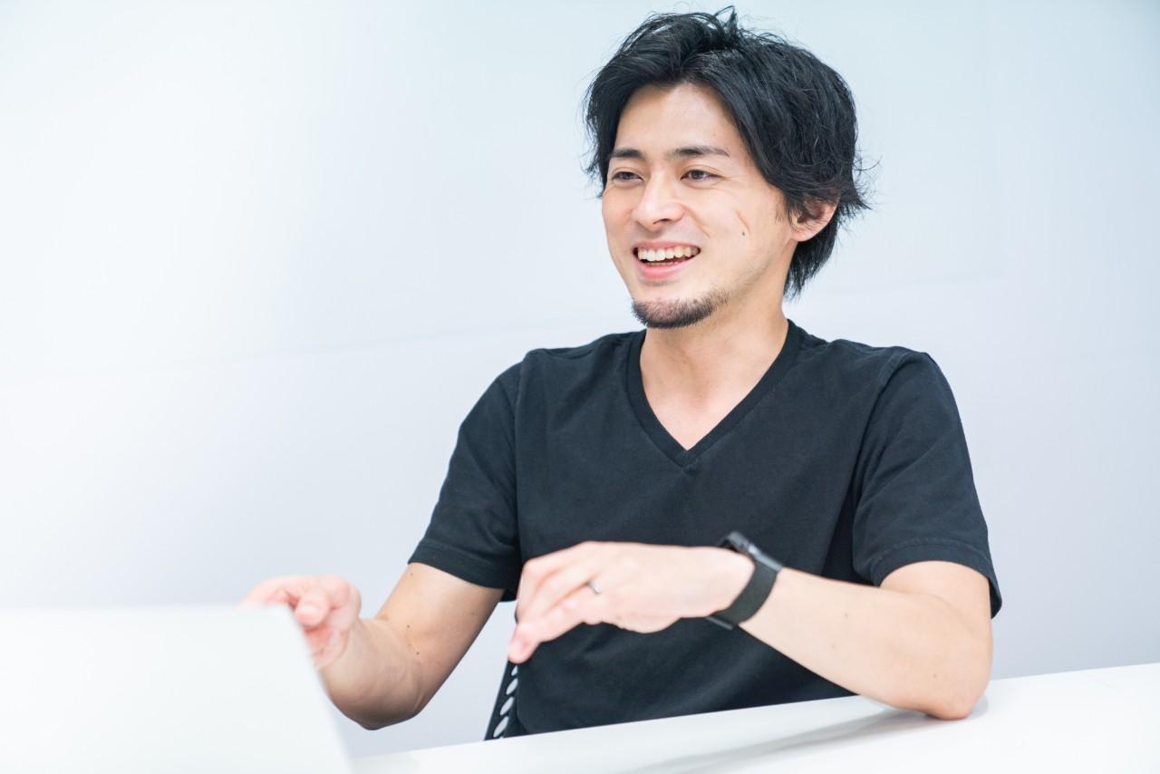 カジュアル動画 インタビュー
