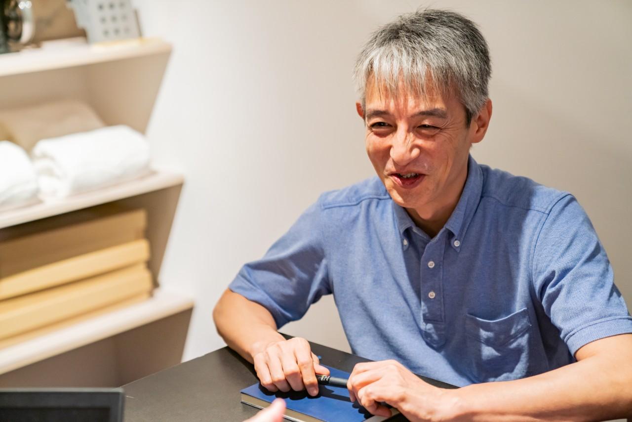 IKEUCHI ORGANIC株式会社 代表取締役社長 阿部哲也氏