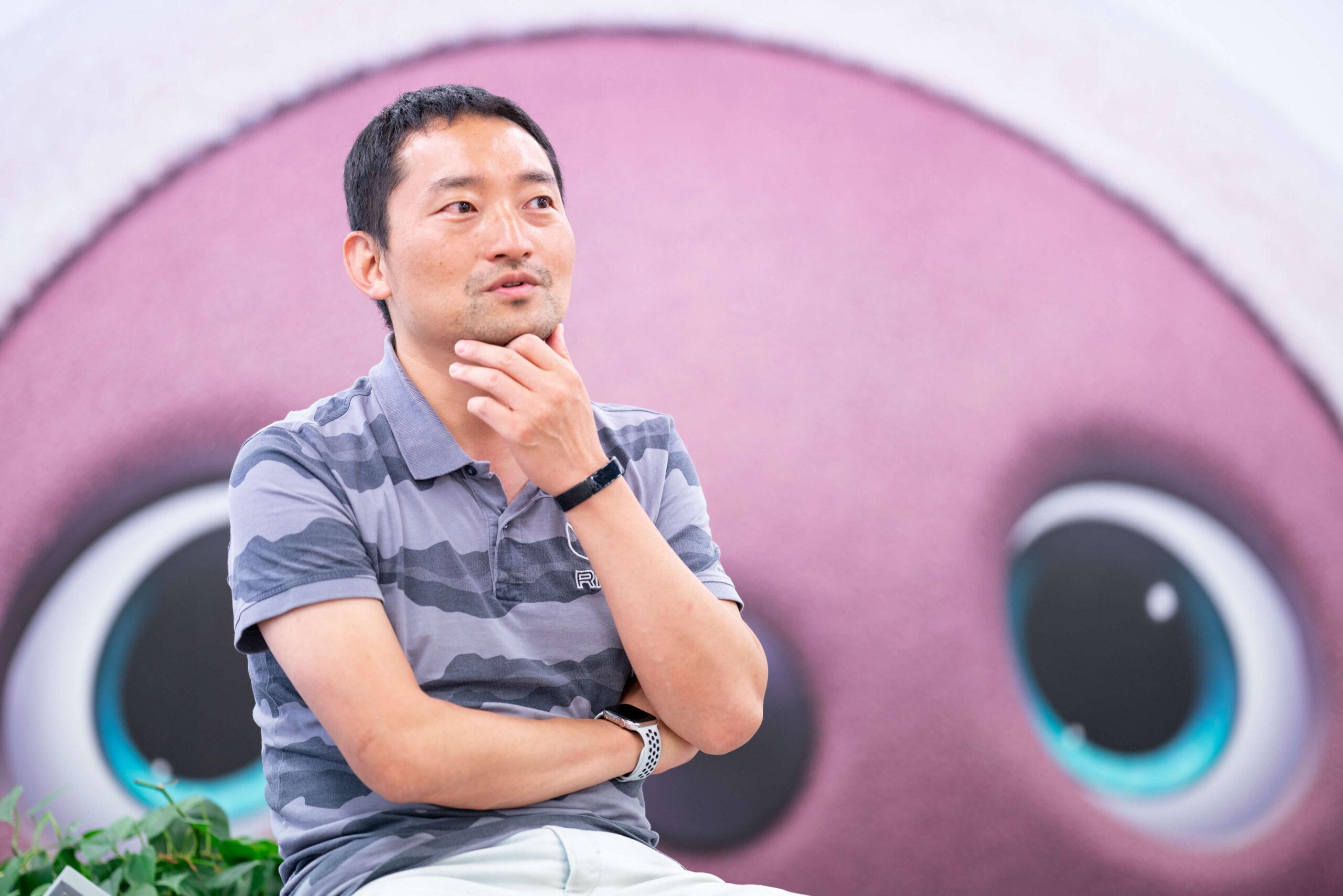 株式会社シンクロ CEO 兼 GROOVE X株式会社 CMO 西井敏恭氏