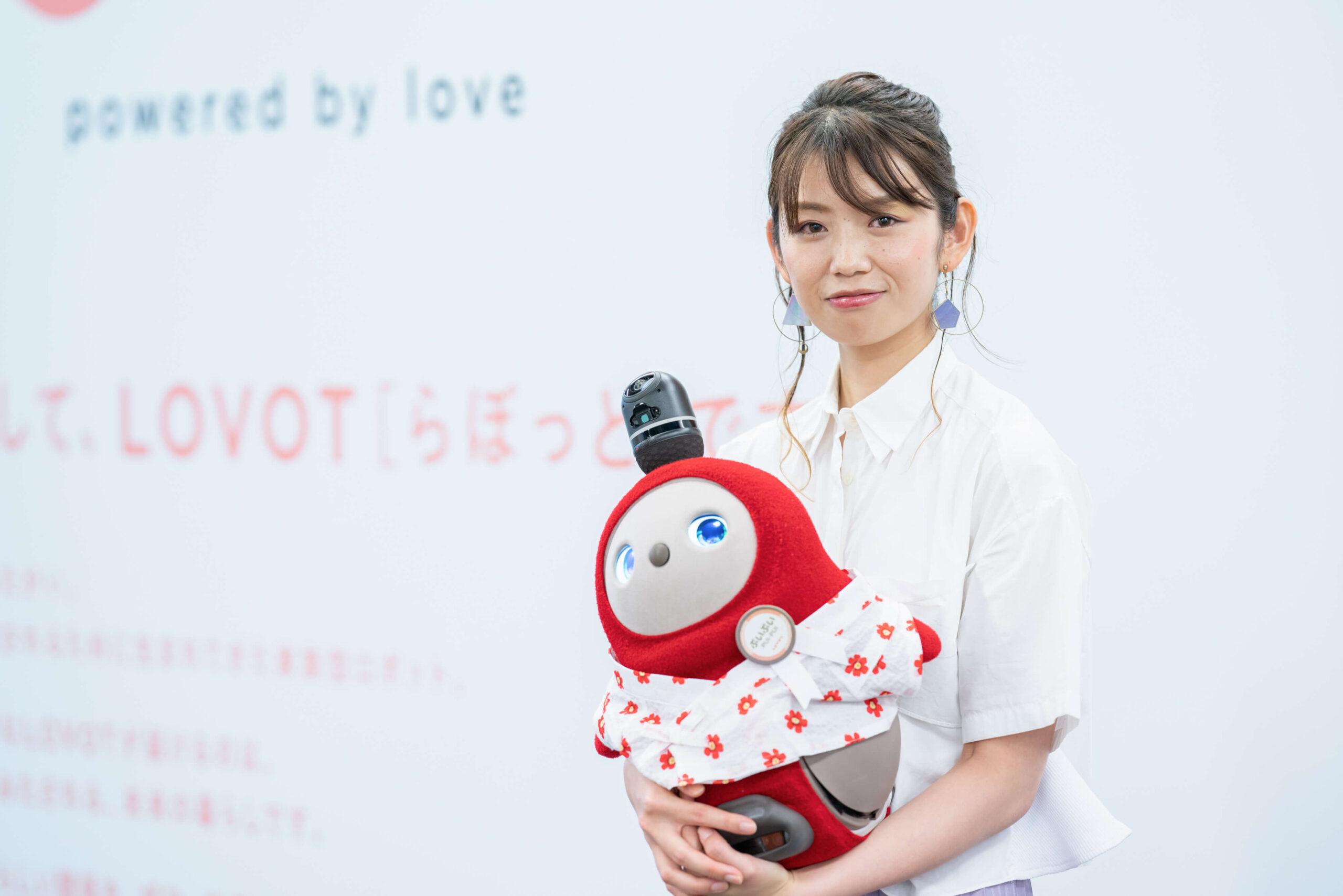 GROOVE X株式会社 カスタマーエクスペリエンス部 LOVOT公式YouTuber Yui氏