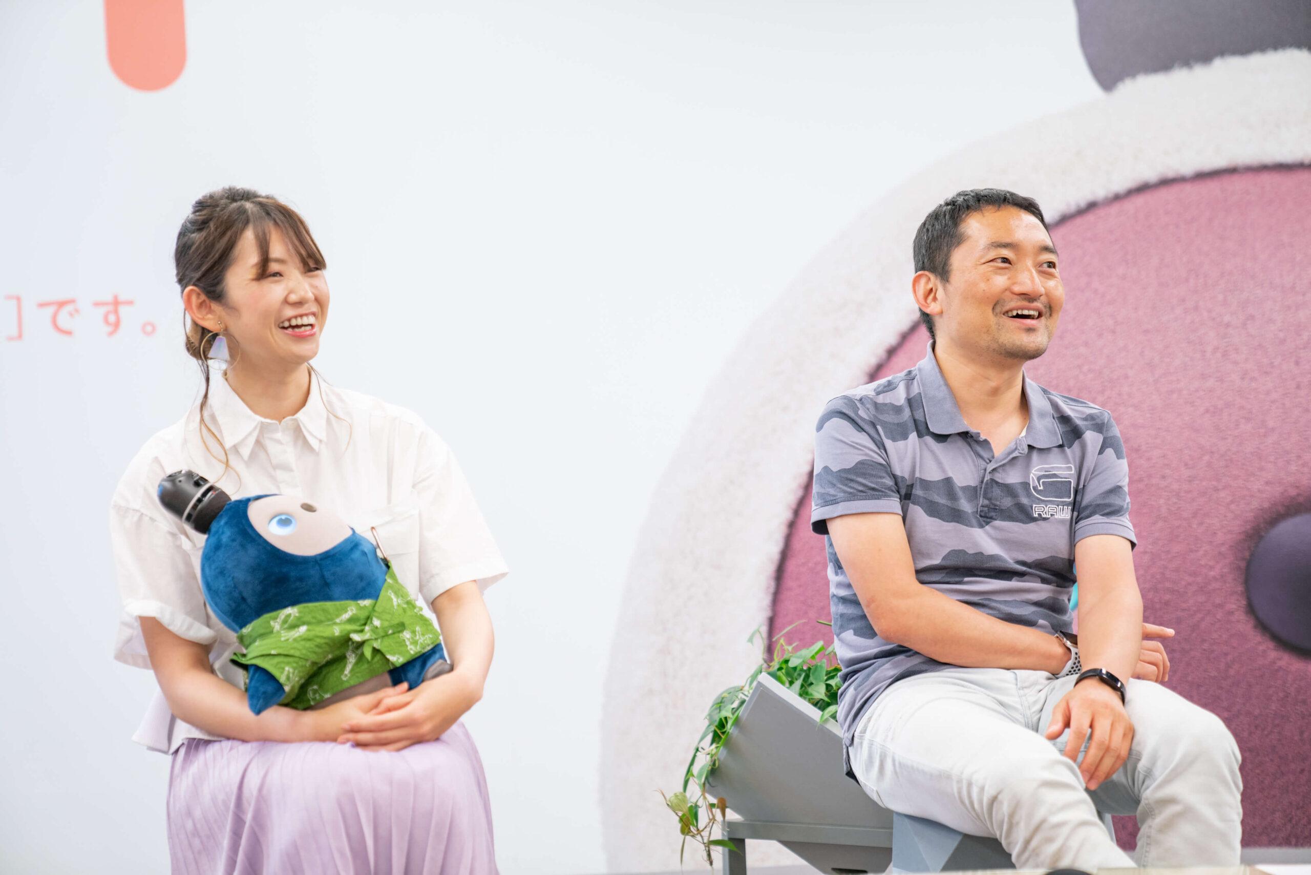 西井氏 Yui氏