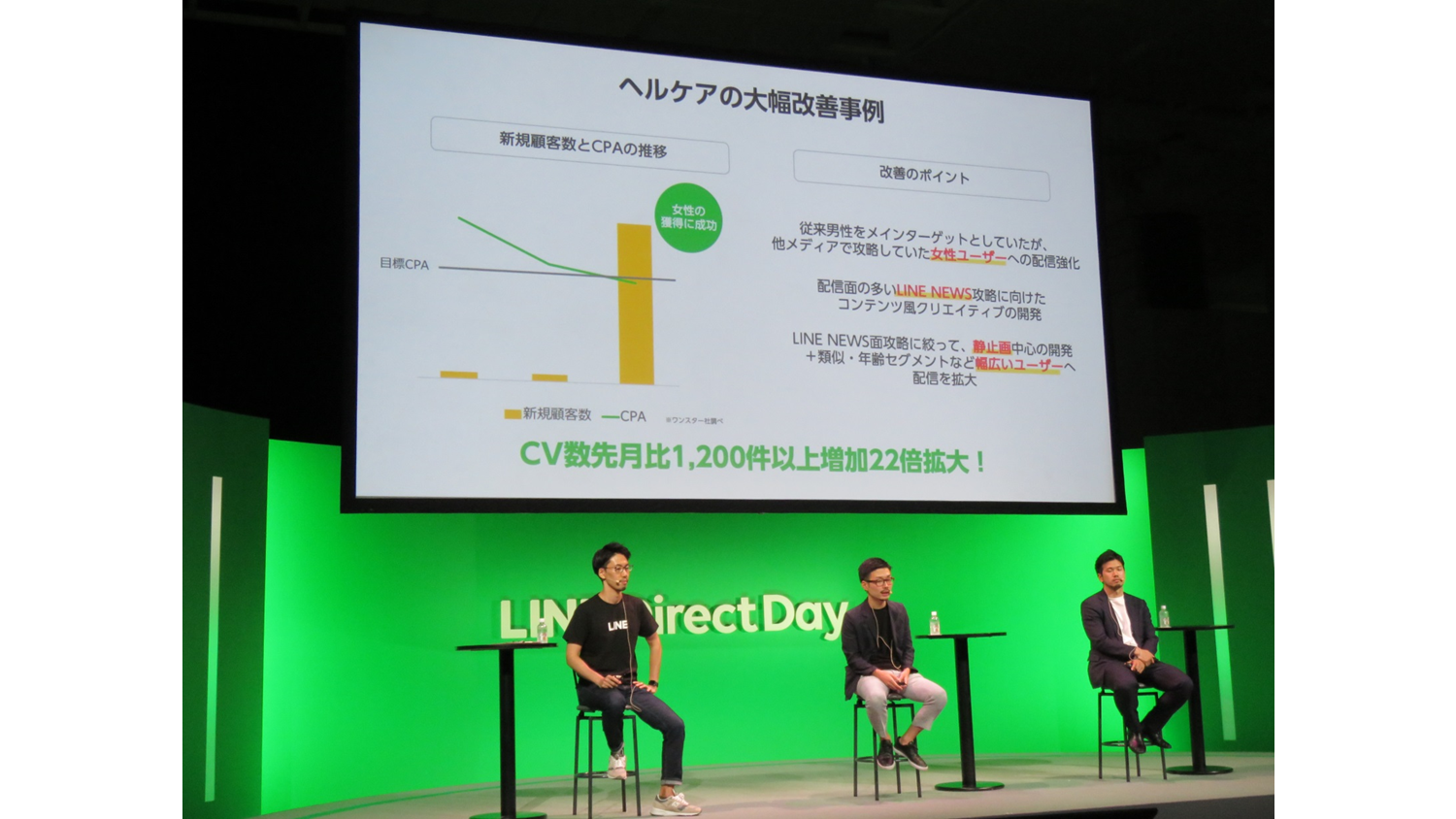 LINE direct Day session1 登壇者