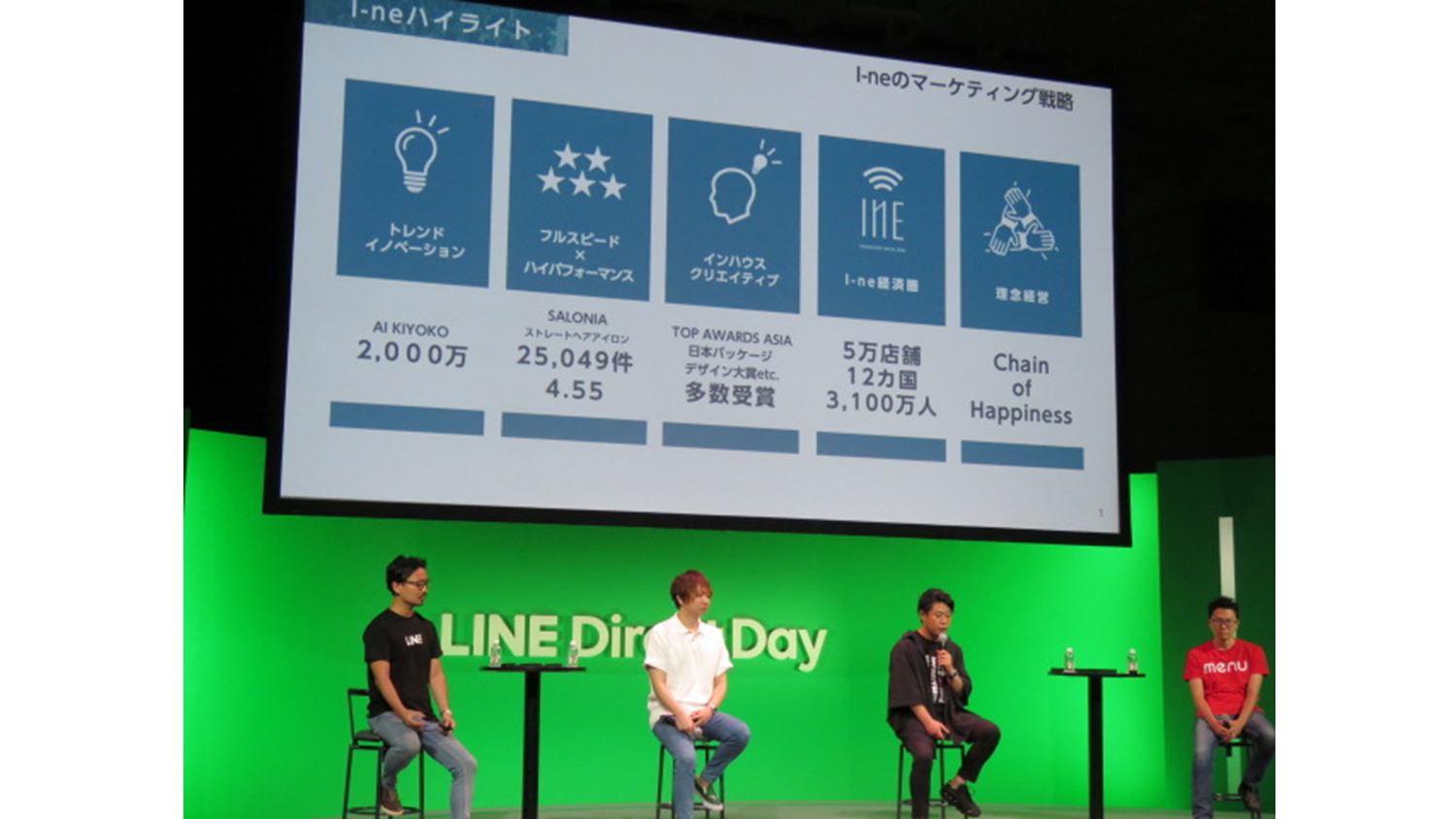 LINEDirectDay session2 登壇者
