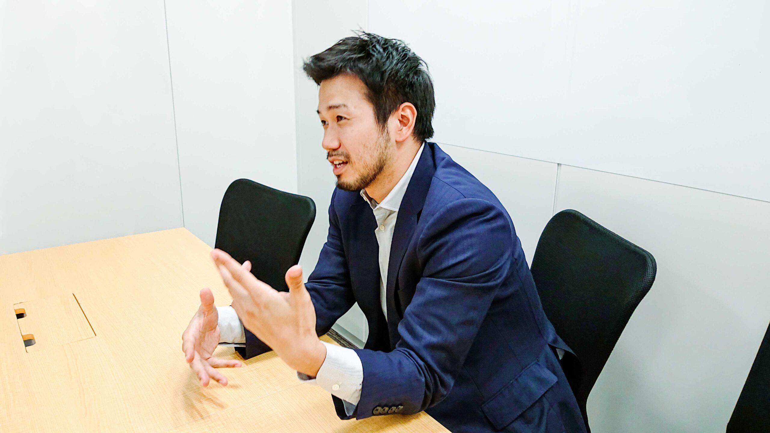 エーザイ株式会社  佐藤 友昭氏 インタビュー画像