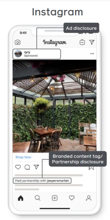 ブランドコンテンツ広告の表示例